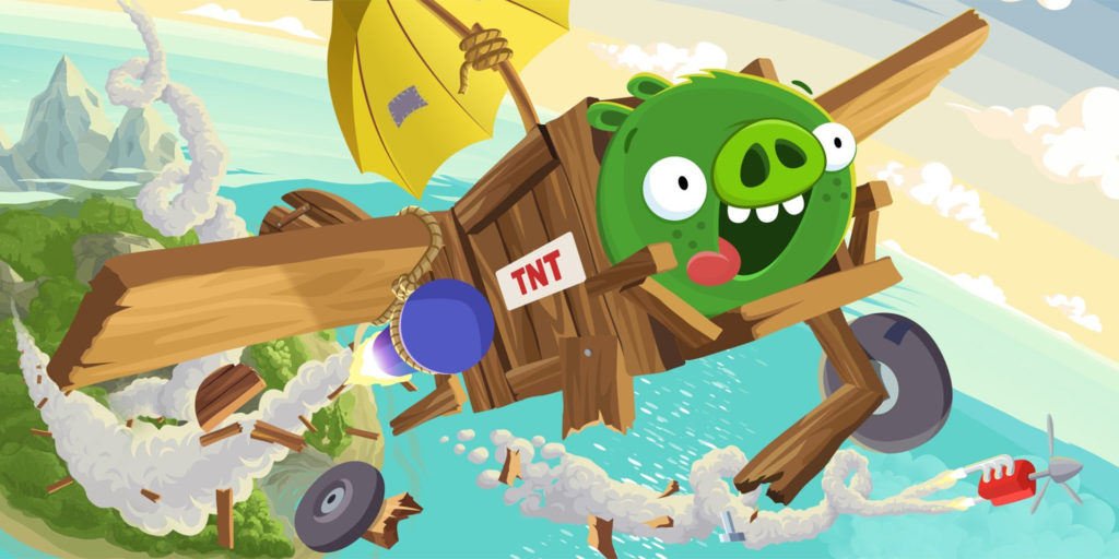 So it makes sense that bad piggies--the next big game coming from angry birds, bad piggies, rovio, ios, android